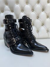 BNWB. Black Chloe rylee Boots. Size 37. Made In Italy.
