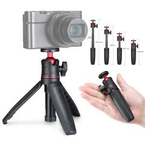 Mini Extendable Desktop Tripod Holder Stand Bracket For DSLR Camera Mobile Phone