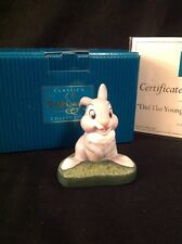 WDCC Disney Classics Thumper Figurine Did The Young Prince Fall Down? Bambi