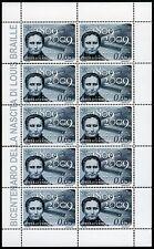 Vatikan Vatican 2009 Louis Braille Blindenschrift 1657 Kleinbogen ** MNH