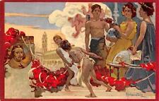 2761) FAENZA 1908 ONORANZE A ENVANGELISTA TORRICELLI. ILLUSTRATORE HOHENSTEIN.