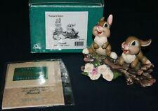 """WDCC Bambi, Thumper's Sisters """"Hello,Hello There!"""" W/Box & COA,"""