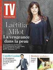 TV MAGAZINE N°22414 04/09/2016  LAETITIA MILOT/ COMBAL/ NCIS NEW ORLEANS/ CANAL+