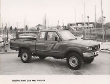 Nissan King Cab 4WD Pick-Up Period Press Photograph - 1985