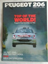 Peugeot 206 From GTi to WRC by Autocar pub 2002