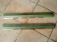 Brass Rack Mount pair for standard machine room rack