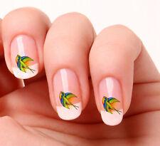 20 Nail Art pegatinas transferencias calcomanías # 365-Color tragar con Peel & Stick