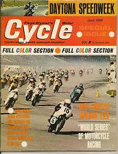 MINT Cycle Magazine June 1966  Daytona Speedweek Special  Triumph, Yamaha