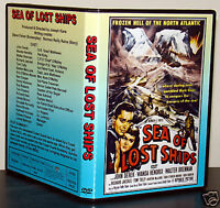 SEA OF LOST SHIPS - DVD - John Derek, Wanda Hendrix