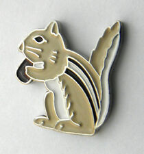 CHIPMUNK MAMMAL GROUND SQUIRREL ANIMAL LAPEL PIN BADGE 3/4 INCH
