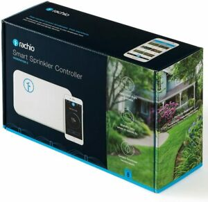 Rachio 8ZULW-B (2nd Generation) 8-Zone Smart Sprinkler Controller