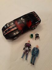 1986 Kenner M.A.S.K. RAVEN Corvette and Figure Lot