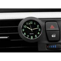 Car Clock Luminous Mini Auto Dashboard Air Vent Clip Digital Watch Quartz Clock