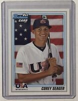 Corey Seager 2010 Bowman RC 🔥 1st Bowman Card Rookie 🔥Team USA 🔥 LA Dodgers