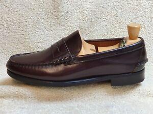Sebago mens Loafer all Leather Brown UK 8.5 EUR 42.5