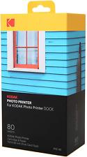Kodak Dock Wi-Fi Photo Printer Cartridge PHC Refill Photo Paper 40-120 Pack NEW
