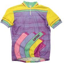 Men's Vintage LOOK Cycling Bike Racing Jersey Shirt Large L
