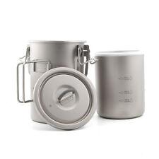 Keith Ti6300 Titanium Rice Pot Light  Weight Camping Cooker titanium