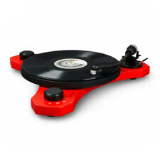 Crosley C3 2 Speed Turntable Record Player in Red