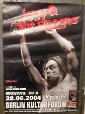 Iggy Pop Tourposter   Konzertplakat   28.06.2004   Berlin Kulturforum