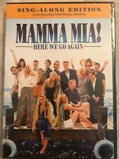 Mamma Mia! Here We Go Again (DVD) FREE SHIPPING IN U.S.A.