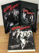 SIN CITY (DVD, 2005) w/SLIPCOVER & SCENE SELECTION INSERT ~ Region 1 ~ SEE PICS