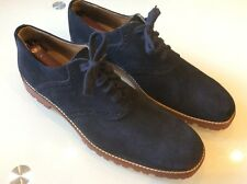 To Boot New York Men's Blue Suede Oxfords Size 10.5 $ 118.00