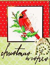 Sizzix Thinlits Handwritten Holidays 11-die set #660979 Retail $19.99 Tim Holtz