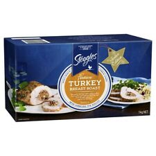 Steggles Frozen Flavoured Turkey Breast Roast 1kg