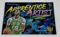2019-20 Panini Court Kings Tacko Fall Apprentice Artist Insert RC Celtics #18