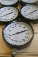 Ashcroft Pressure Guage, Model 048-06 100 psi with vacuum