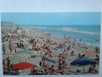 Vintage Postcard A crowded beach in San Clemente, California