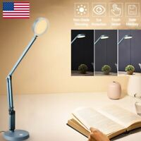LED Light Desk Table USB Reading Lamp Dimmable Touch Control Eye-Protection