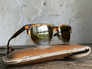 Vintage French Vuarnet SKI Sunglasses. Pouilloux. Glass Lenses. Tortoiseshell.
