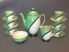 Unboxed Art Deco Coffee/Tea Set Royal Doulton Porcelain & China