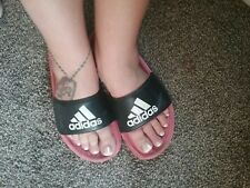 Well Worn Womens Womans Used Sandals Flip Flops Size 10 Summer Shoes