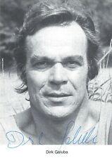 Dirk Galuba, Originalautogramm, alte Autogrammkarte,