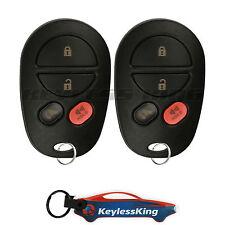 2 Keyless Entry for Toyota Sienna 2004 2005 2006 2007 2008 2009 2010 Remote 4b