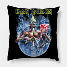 Iron Maiden Band High Quality Throw Pillow