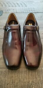 Johnston & Murphy 8.5 Men's Monk Strap Cordovan