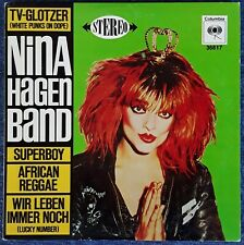 "NINA HAGEN BAND - SELF TITLED - COLUMBIA 36817 - 10"" EP - 1980"