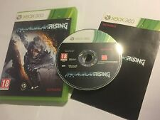 XBOX 360 GAME METAL GEAR RISING REVENGEANCE +BOX INSTRUCTIONS COMPLETE PAL