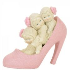 Snowbabies 4058778 If The Shoe Fits Pink Shoe Figurine