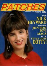 Patches Magazine 21 October 1988 Issue 504    Jon Bon Jovi    Mags of A-Ha