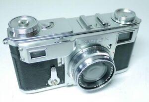 Zeiss Ikon Contax II mit Sonnar 1:2 5cm  An-Verkauf!   ff-shop24