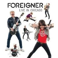 """FOREIGNER """"LIVE IN CHICAGO""""  BLU-RAY NEUWARE"""