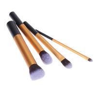 4* Pinceau de Maquillage Professionnel Kit Kabuki Brosse Cosmétiques Outil