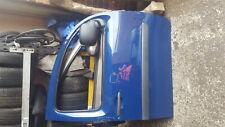 Renault Kangoo 2007-2013 Drivers OSF Front Door Blue ORNQ