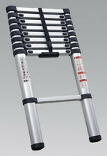 Sealey ATL09 Aluminium Telescopic Ladder 9-Tread EN 131