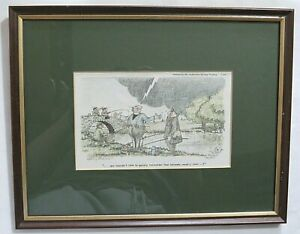 Henry Brewis Signed Limited Edition Print FISHING INTEREST. Very good condition.